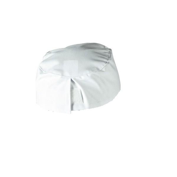 Lot de 2 calots de cuisine mixte remi confection 053 blanc for Confection cuisine
