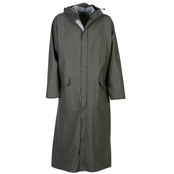 manteau de pluie long cotten