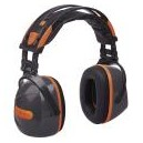 CASQUE ANTIBRUIT PLIABLE DELTA PLUS YASMARINA GRIS/ORANGE