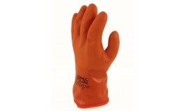 GANT EN PVC TREMPE ORANGE