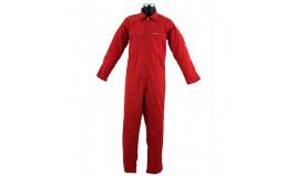 combinaison de travail 65 polyester 35 coton sonorco venfor pc rouge s curit protection. Black Bedroom Furniture Sets. Home Design Ideas