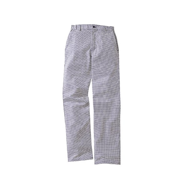 Pantalon de cuisine pied de poule lafont 1fch87co bleu for Pantalon pied de poule cuisine
